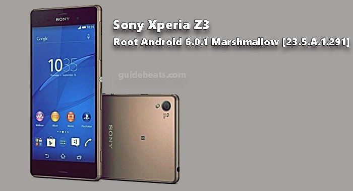 Root Xperia Z3 Compact D5803, D5833 on Marshmallow 23.5.A.1.291