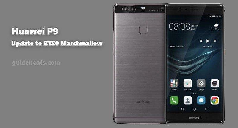 Update Huawei P9 B180 OTA Marshmallow Firmware
