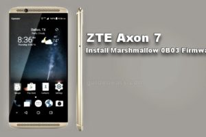 Update ZTE Axon 7 A2017G to Android 6.0.1 Marshmallow V1.0.0B03