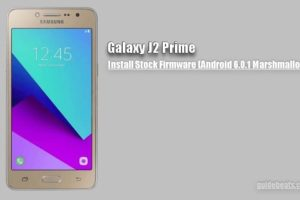 Samsung Galaxy J2 Prime Stock Firmware [Android 6.0.1 Marshmallow]