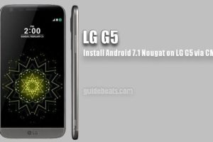 Install LG G5 CM 14.1 Android 7.1 Nougat