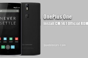Download and Install OnePlus One CM 14.1 Official ROM
