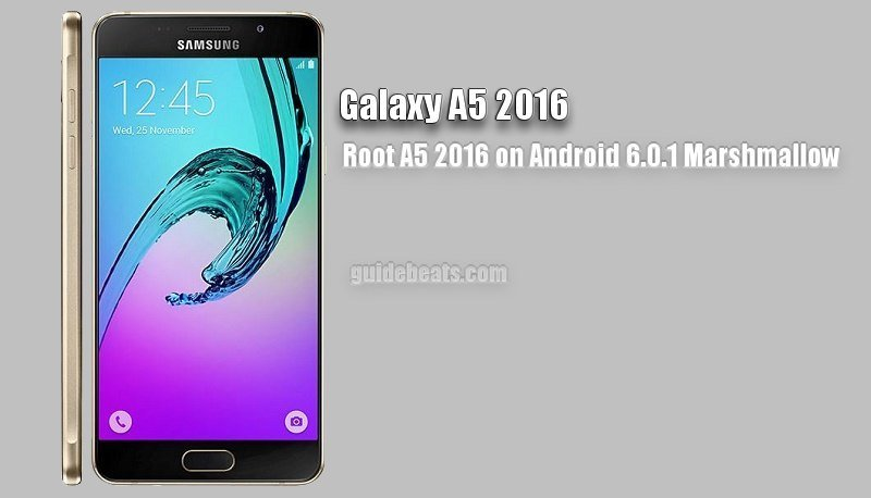 Root Samsung Galaxy A5 2016 SM-A510Y on Android 6.0.1 Marshmallow