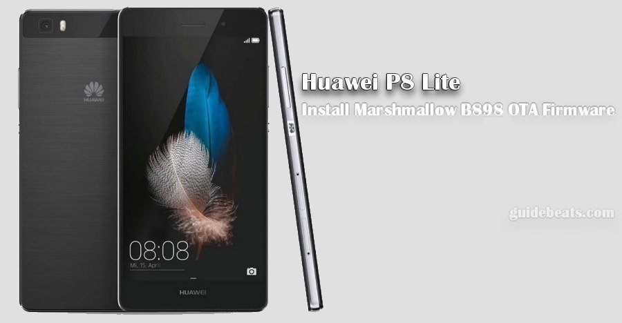 Download and Install Marshmallow B898 on Huawei P8 Lite [OTA Update] [L21-Vodafone]