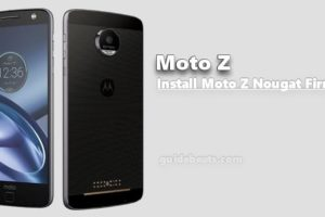 Download and Install Moto Z force and Moto Z Nougat Firmware [OTA]