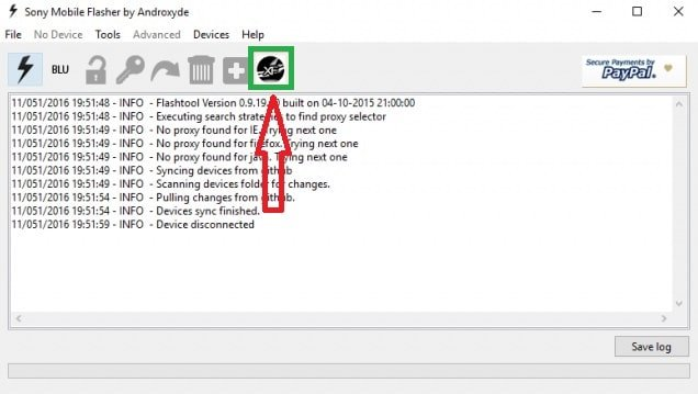 Install Sony official Firmware with Flashtool and XperiFirm Manually