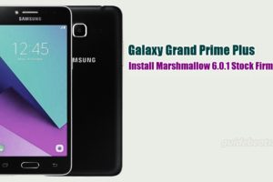 Install Galaxy Grand Prime Plus Marshmallow 6.0.1 Stock Firmware