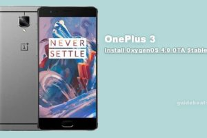 Install OnePlus 3 OTA OxygenOS 4.0 Stable build