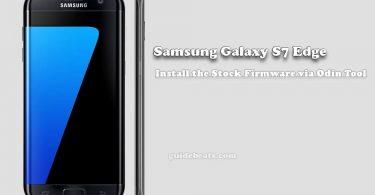 Install Stock Firmware Samsung Galaxy S7 Edge [SM-G935F]