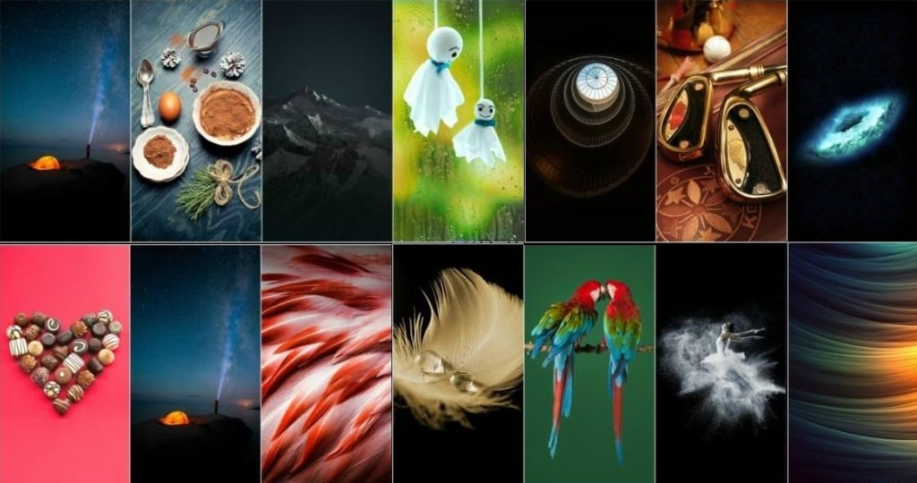 Download the ZTE Axon 7 Stock Wallpapers