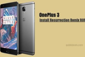 Install Nougat on OnePlus 3 via Resurrection Remix