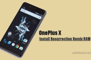 Install Nougat on OnePlus X via Resurrection Remix
