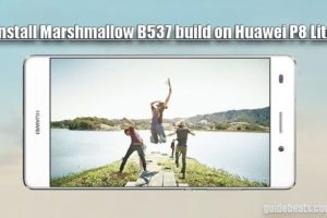Install Huawei P8 Lite Marshmallow B537 Full Firmware