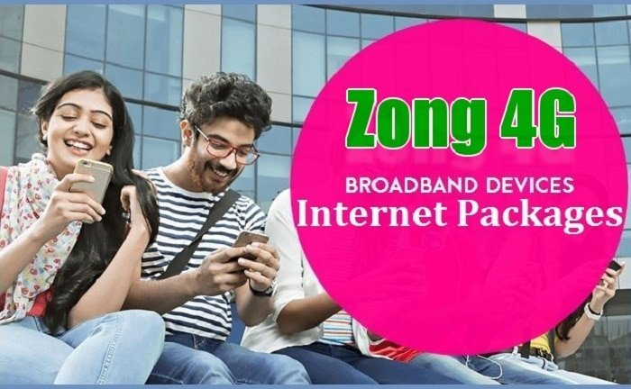 Zong 4G Data SIM Internet Packages (Pakistan)