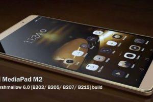 Install Huawei MediaPad M2 Marshmallow 6.0 Firmware