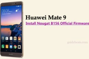 Install Huawei Mate 9 Nougat B156 Official Firmware