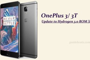 Update OnePlus 3/3T to Hydrogen 3.0 ROM [H2OS]