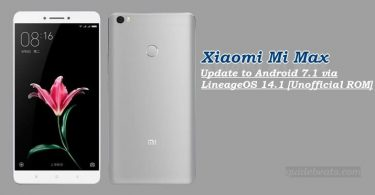 Update Xiaomi Mi Max to Android 7.1 via LineageOS 14.1