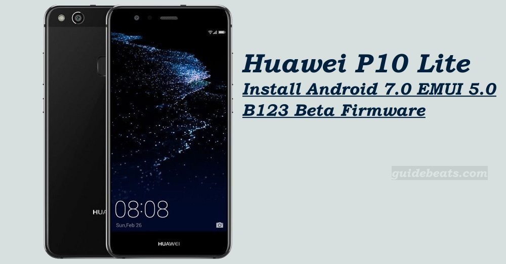 Install Android 7.0 Nougat on Huawei P10 Lite