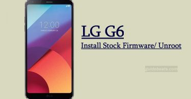 Download and Install LG G6 Stock Firmware kdz