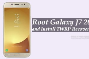 Root Galaxy J7 2017 and Install TWRP Recovery