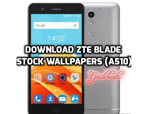How to Download ZTE Blade Stock Wallpapers (A510)