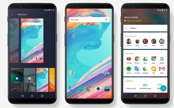 Download the OnePlus 5T Stock Wallpapers