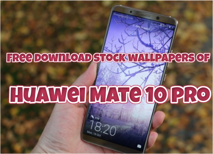 Free Download Huawei Mate 10 Pro Stock Wallpapers Zip-File