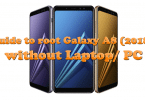guide to root galaxy A8 (2018)