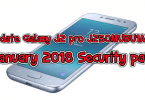 Update Galaxy J2 pro J250MUBU1ARA2 january 2018 security patch