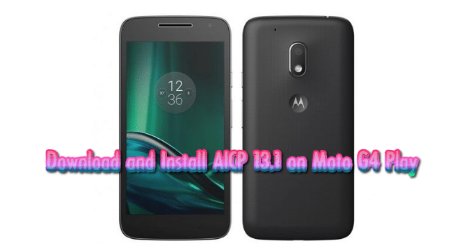 Moto G4 Play Wallpapers: Download AICP 13.1 On Moto G4 Play
