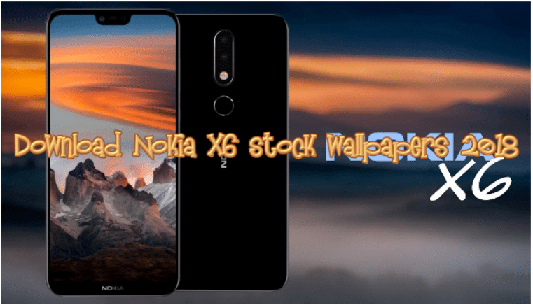 Download Nokia X6 stock wallpapers 2018