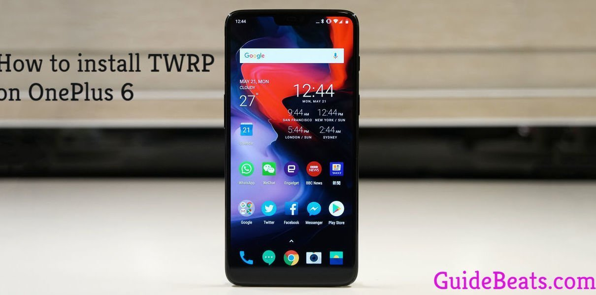 How to Install TWRP Recovery on OnePlus 6