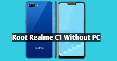 How to Root Realme C1
