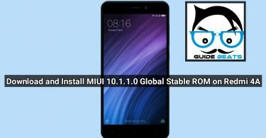 Download and Install MIUI 10.1.1.0 Global Stable ROM on Redmi 4A