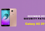Install A510FXXS7CRL3 December 2018 Security Patch On Galaxy A5 2016