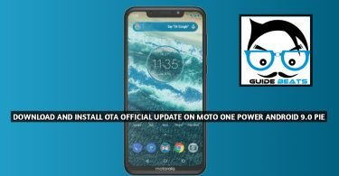 Download and Install OTA Official Update On Moto One Power Android 9 Pie