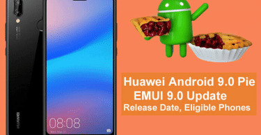 Install Android 9.0 Pie Beta Update On Huawei P10, P10 Plus, Huawei Mate 9