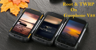 Root Guophone V88 And Install TWRP Recovery