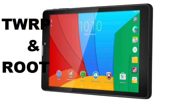 Install TWRP Recovery And Root Prestigio MultiPad Wize 3308 3G