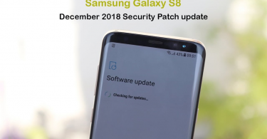 Install G950FXXS4CRL7 December 2018 Security Patch On Samsung Galaxy S8