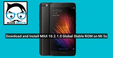 Download and Install MIUI 10.2.1.0 Global Stable ROM for Mi 5s