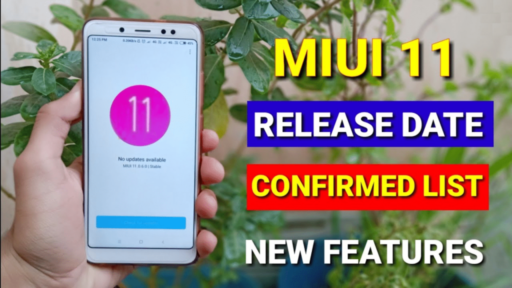 Download and Install MIUI 11 Rom, Features And Supported Devices