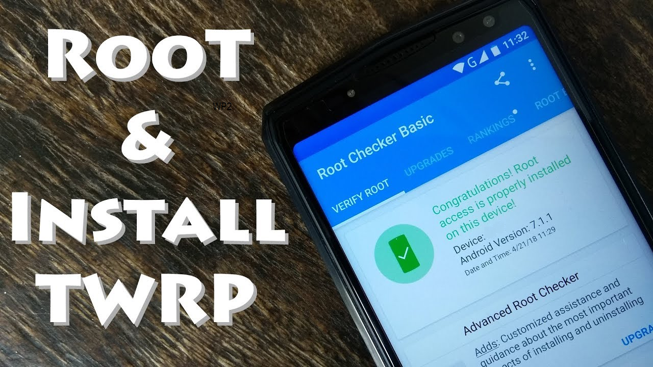 How To Install TWRP Custom Recovery And Root Oukitel WP2