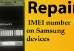 Repair IMEI Number On Samsung Devices