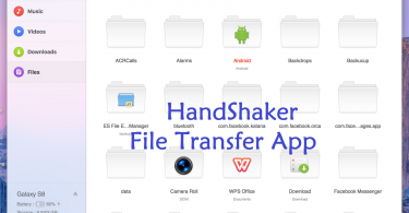 Download HandShaker App For Android And Mac OS File Tranasfer