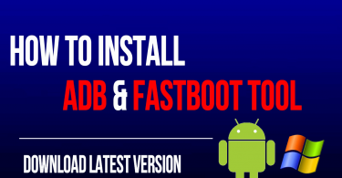 Download And Install Minimal ADB And Fastboot Drivers