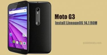 How to Download and Install LineageOS 14.1 on Moto G3 [Unofficial] ROM