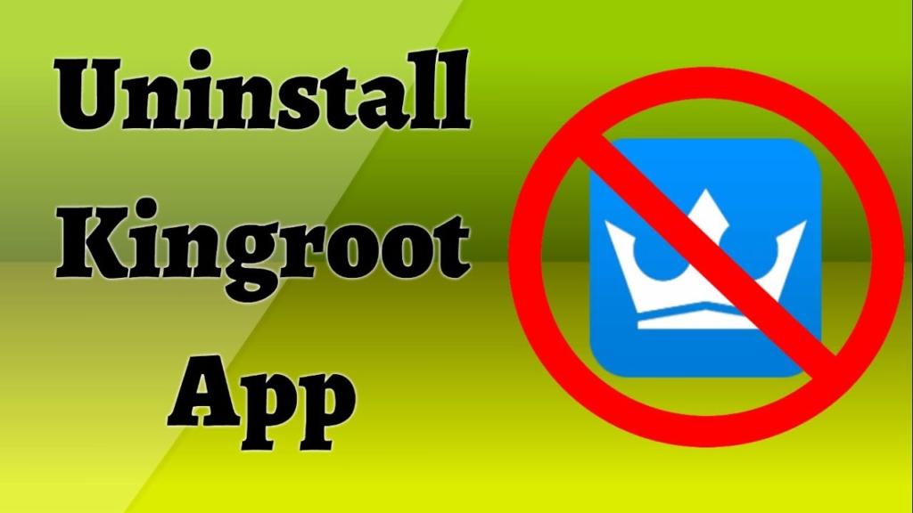 Remove KingUser Application
