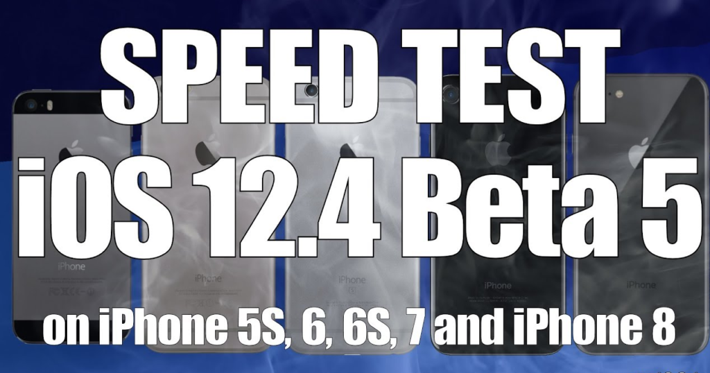 Download And Install 12.4 Beta 5 Build For iPhone, iPad, And iPod In 2019